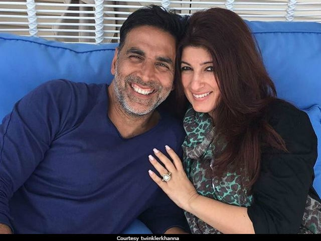 Twinkle Khanna And Akshay Kumar Had The Sweetest Exchange On Twitter