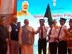 Prime Minister Narendra Modi Launches Cheap Flights Scheme 'Udan' From Shimla: Highlights