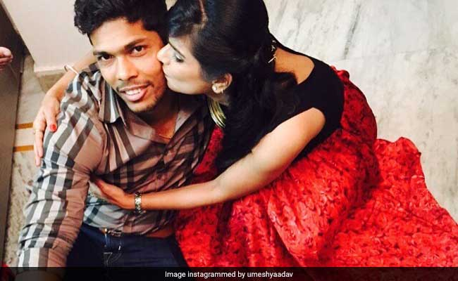umesh yadav with wife tanya yadav