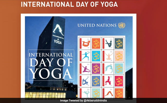 UN To Issue Commemorative Stamps For International Yoga Day