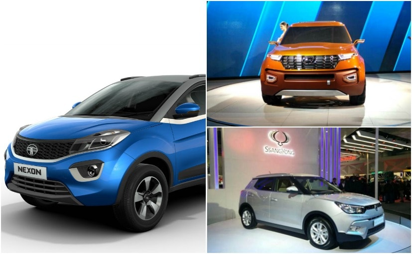Upcoming Subcompact SUVs In India
