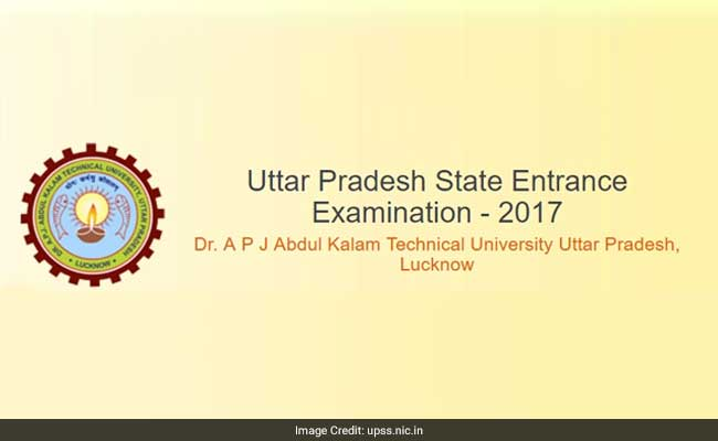 UPSEE 2017: AKTU Releases Admit Card, Exam To Begin From April 16
