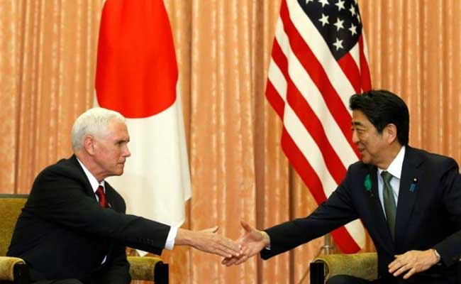 US Vice President Mike Pence Kicks Off Japan Talks, Seeking To Boost Trade
