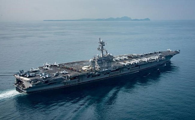 China Presses For Chilling Situation As US Carrier Group Heads For Korea Waters