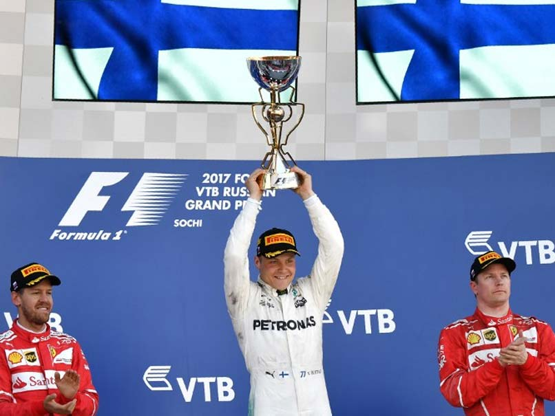 Russian Grand Prix: Valtteri Bottas Claims Maiden Win For Mercedes Ahead Of Sebastian Vettel