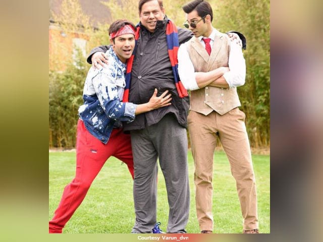 Varun Dhawan And Judwaa Bhai Celebrate Birthday With This Pic