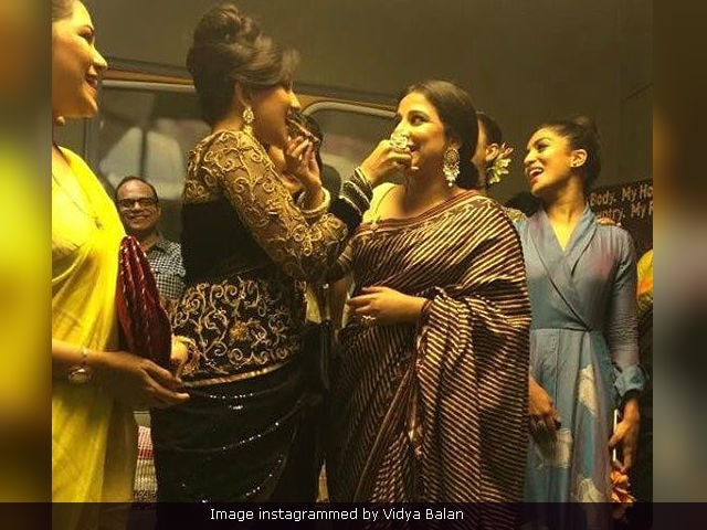 When Vidya Balan Ate Cake With Rituparna Sengupta: A Tale Of 2 Begum Jaans