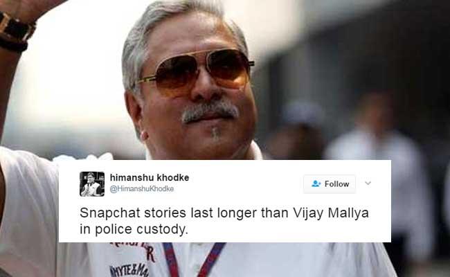All The Things That Last Longer Than Vijay Mallya In Custody, As Per Twitter