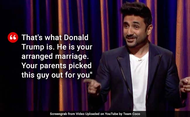 Comedian Vir Das Compares Donald Trump To Arranged Marriage On US TV Show