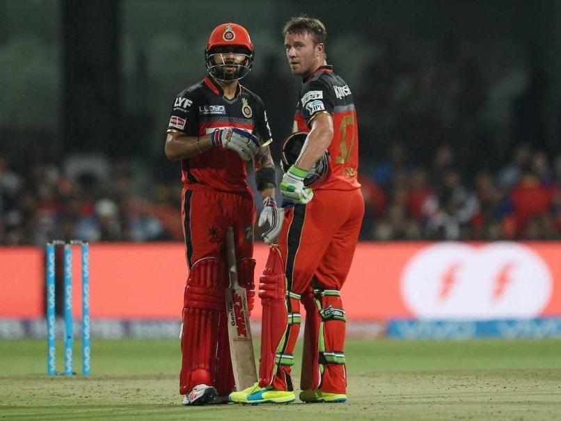 IPL 2017: AB de Villiers Takes Credit For a Calmer Virat Kohli
