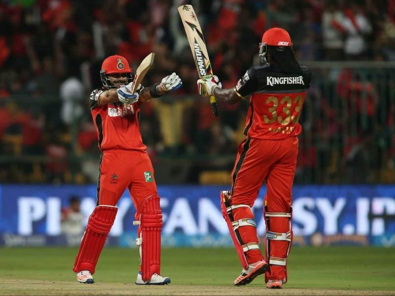 IPL 2017: Injured Virat Kohli Joins Royal Challengers Bangalore Camp. Chris Gayle Cant Hide His Joy