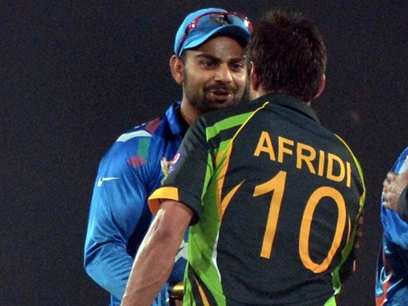 Relationship With Virat Kohli Not Dictated By India-Pakistan Politics, Says Shahid Afridi