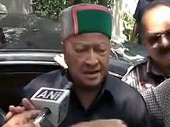 Virbhadra Singh Slams BJP For Opposing Himachal Pradesh Government's Education Policy