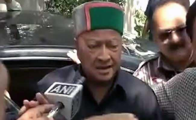 Enforcement Directorate Quizzes Virbhadra Singh In Disproportionate Assets Case