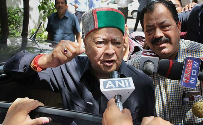 Virbhadra Singh Wins Round One, But Ticket For Son Not In The Bag Yet