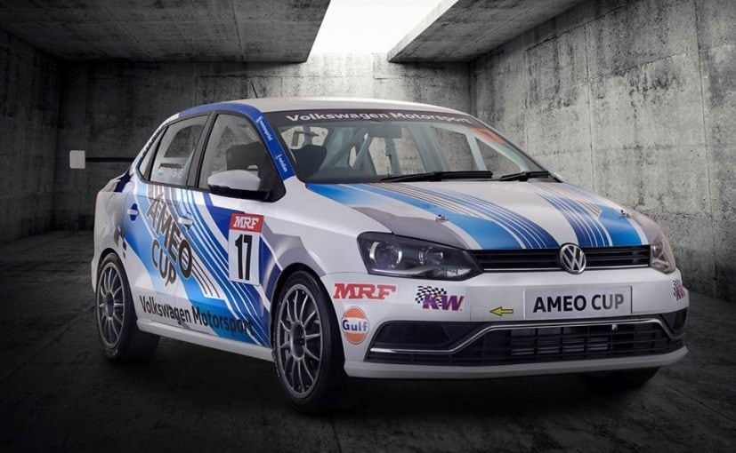 203 Bhp Volkswagen Ameo Cup Car Revealed