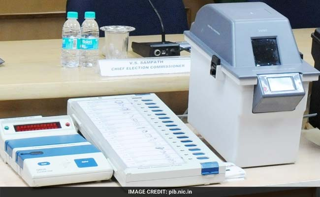 Cabinet May Take Call On Paper Trail Machines for Poll Commission Today