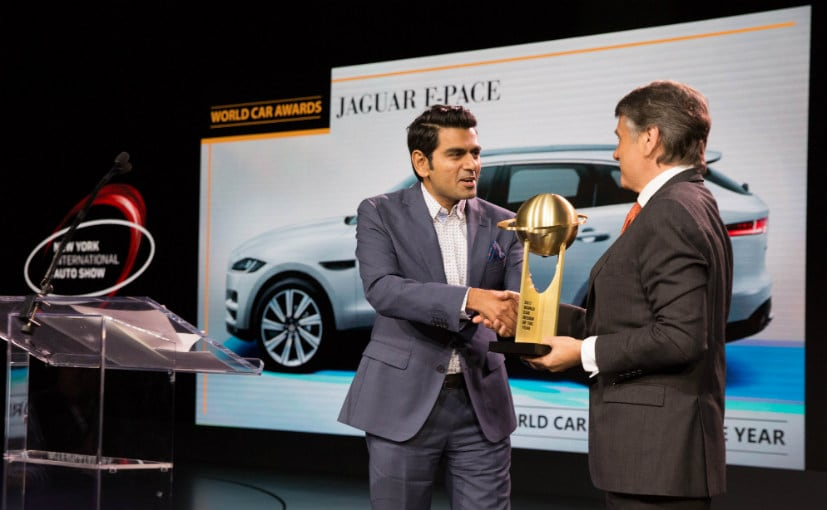 Jaguar F-Pace Wins The World Car Of The Year Award For 2017