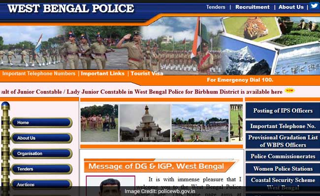WB Police Constable Recruitment 2017: Written Test Results Declared; Check Now