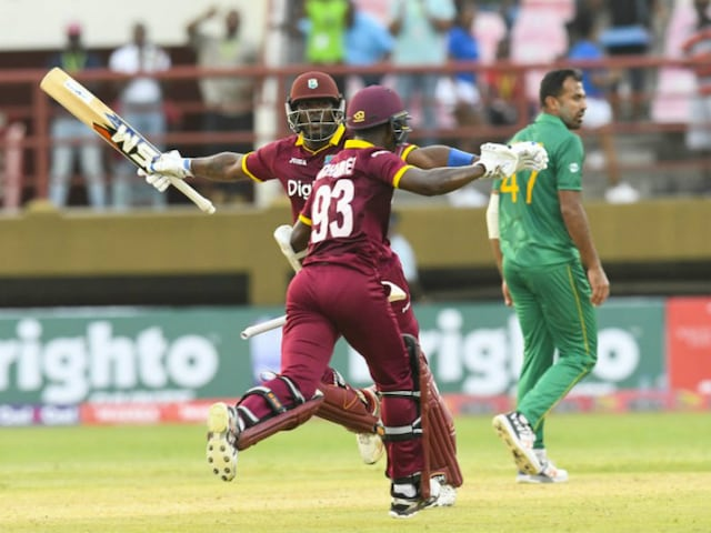 Jason Mohammed Stars As Record-Setting West Indies Beat Pakistan In 1st ODI