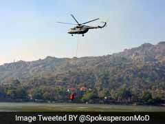 Fire Continues To Rage In Parts Of Mt Abu