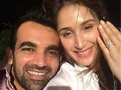 Zaheer Khan Gets Engaged To Sagarika Ghatge, Announces News On Twitter