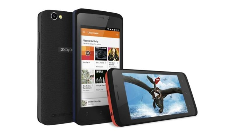 ज़ोपो कलर एम4 एंड्रॉयड 4जी स्मार्टफोन लॉन्च, कीमत 4,999 रुपये
