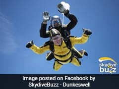 101-Year-Old Great-Grandpa Skydives His Way Into Record Books