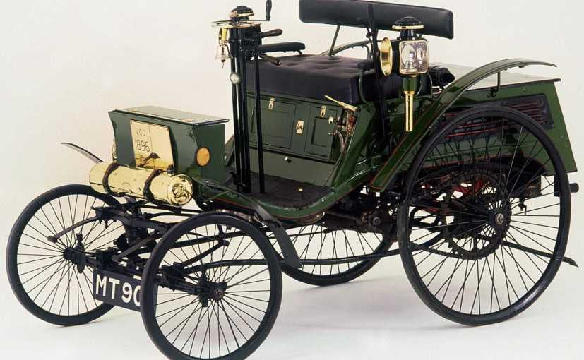 this 1896 arnold benz was the first motor car to get a speeding ticket ndtv carandbike. Black Bedroom Furniture Sets. Home Design Ideas