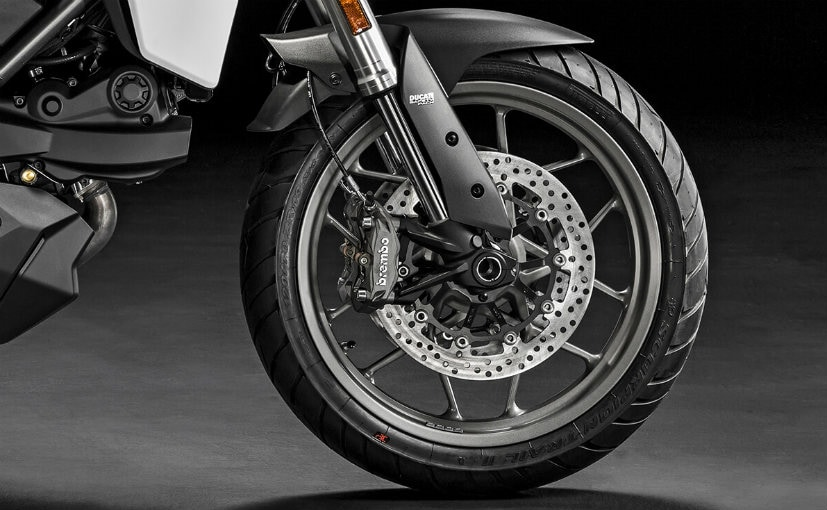 19 inch front wheel on the multistrada 950