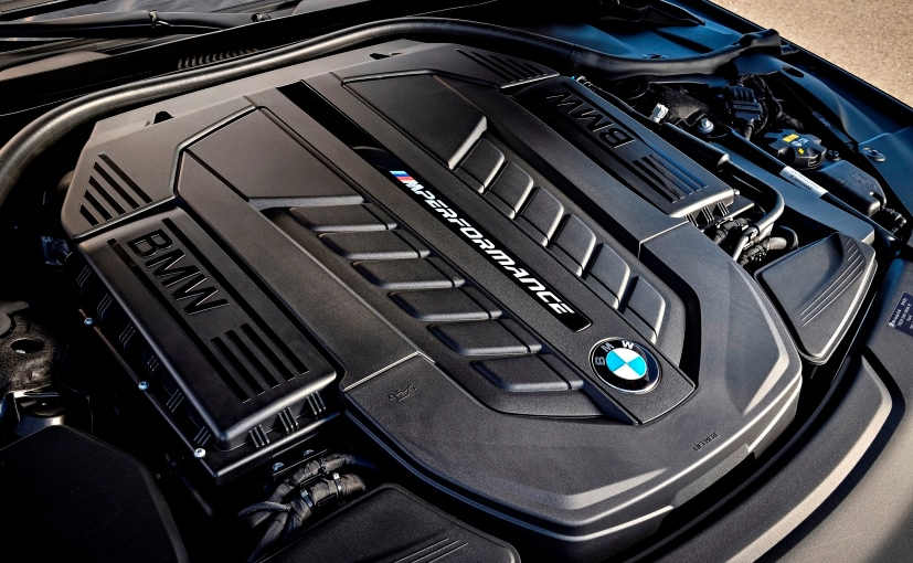 2017 Bmw 760li V12 Engine