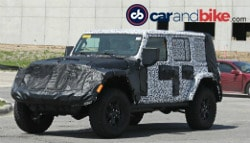 2018 Jeep Wrangler Spotted Testing