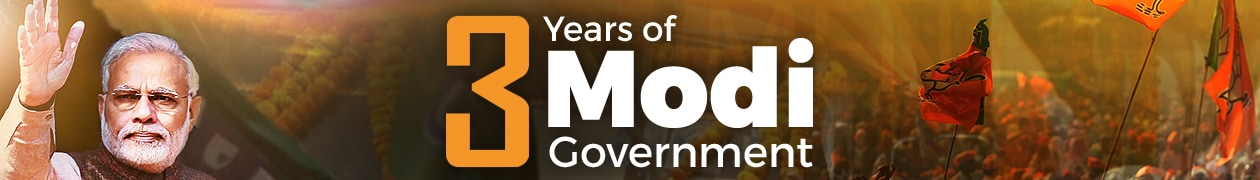 Three Years Of Narendra Modi Government