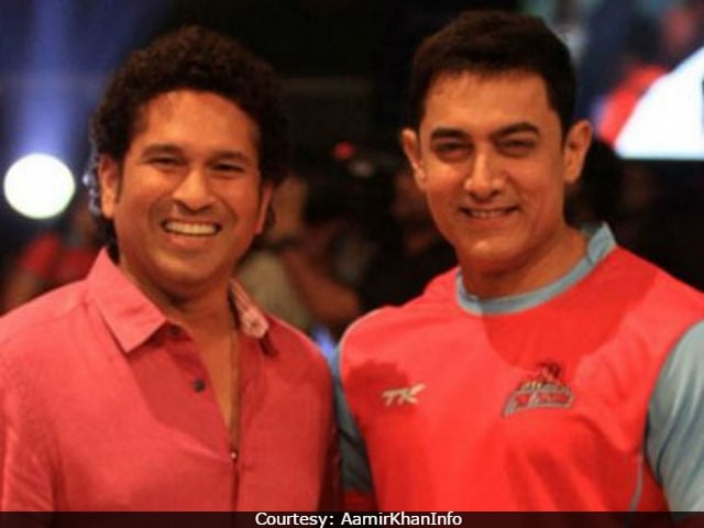 When Aamir Khan Played Cricket And Sachin Tendulkar Cheered For Him