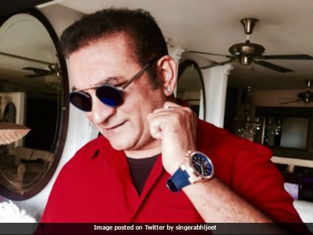 Abhijeet Bhattacharya returns to Twitter