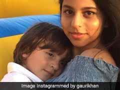 लिटिल मास्टर के बर्थडे पर इमोशनल हुए शाहरुख खान, पत्नी ने साझा की बच्चों की क्यूट तस्वीर
