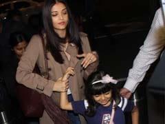 कान के लिए रवाना हुईं ऐश्वर्या राय, बेटी आराध्या ने एयरपोर्ट पर दिए क्यूट पोज