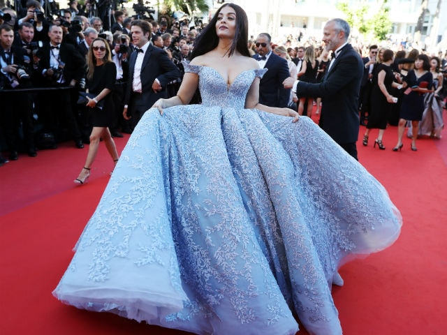 Cannes: Aishwarya Rai Bachchan Is Belle Of The Ball In Princess Dress