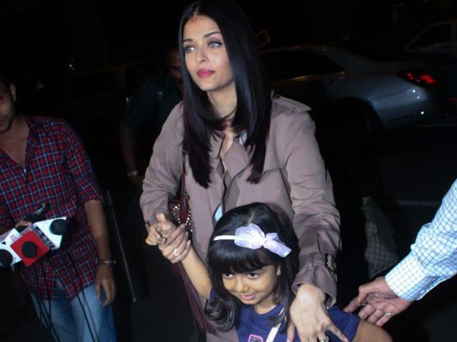 Cannes Film Festival: Aishwarya Rai Bachchan Flies Out Of Mumbai With Aaradhya