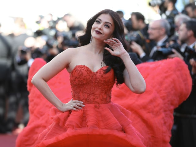 Cannes Film Festival: Aishwarya Rai Bachchan's Showstopping Red Dress