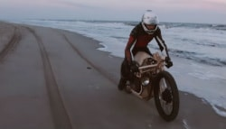 Dutch Duo Builds Algae-Powered Wooden Motorcycle