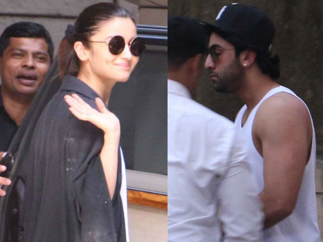 Alia Bhatt, Ranbir Kapoor Spotted At A Bandra Studio. Is The Dragon Ready To Roar?
