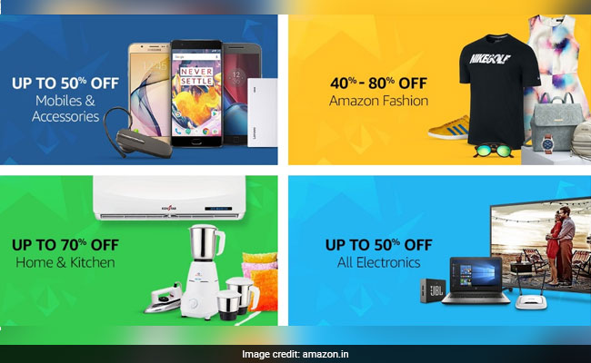 amazon great indian sale brands