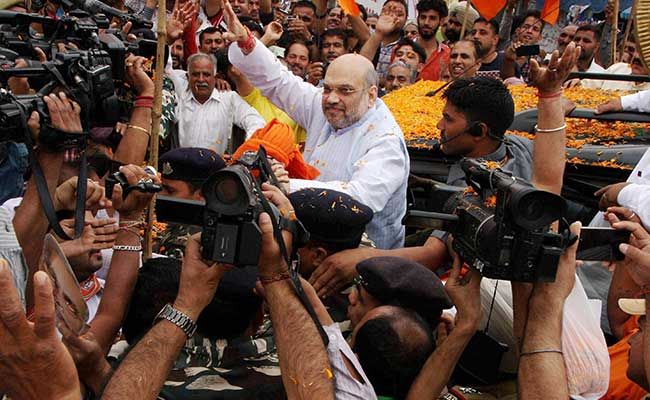 30 Muslims Youths From Kashmir Part Of BJP's Expansion Drive: Amit Shah