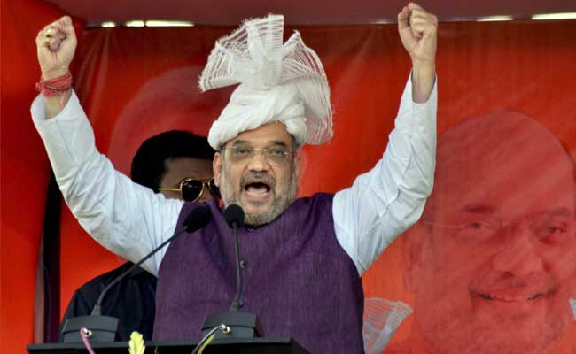 Mission Tripura: BJP President Amit Shah In Left Bastion, Says Rival Leaders In Touch