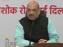 BJP Chief Amit Shah To Listen To '<i>Mann Ki Baat</i>' With Slum Dwellers In Delhi