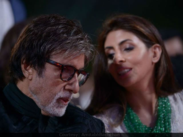 Amitabh Bachchan Waves To Daughter Shweta Bachchan Nanda In Heartwarming Pic Going Viral