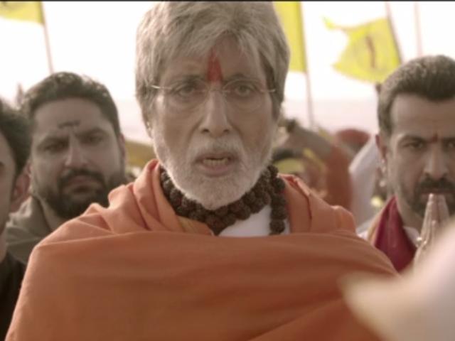 Sarkar 3: Amitabh Bachchan Sings Ganesh Aarti For Ram Gopal Varma's Film