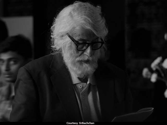 Amitabh Bachchan Shares His 'Real' First Look From 102 Not Out
