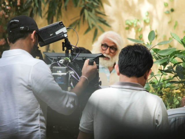 Amitabh Bachchan, 74, Is Playing A 102-Year-Old. See Pics Of Him Filming